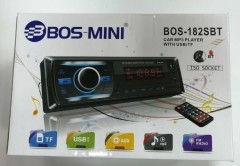 Автомагнитола BOSS-MINI BOS-182SBT, bluetooth